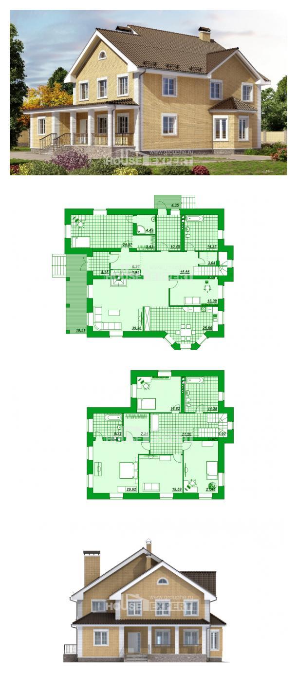 Проект дома 320-003-Л   House Expert