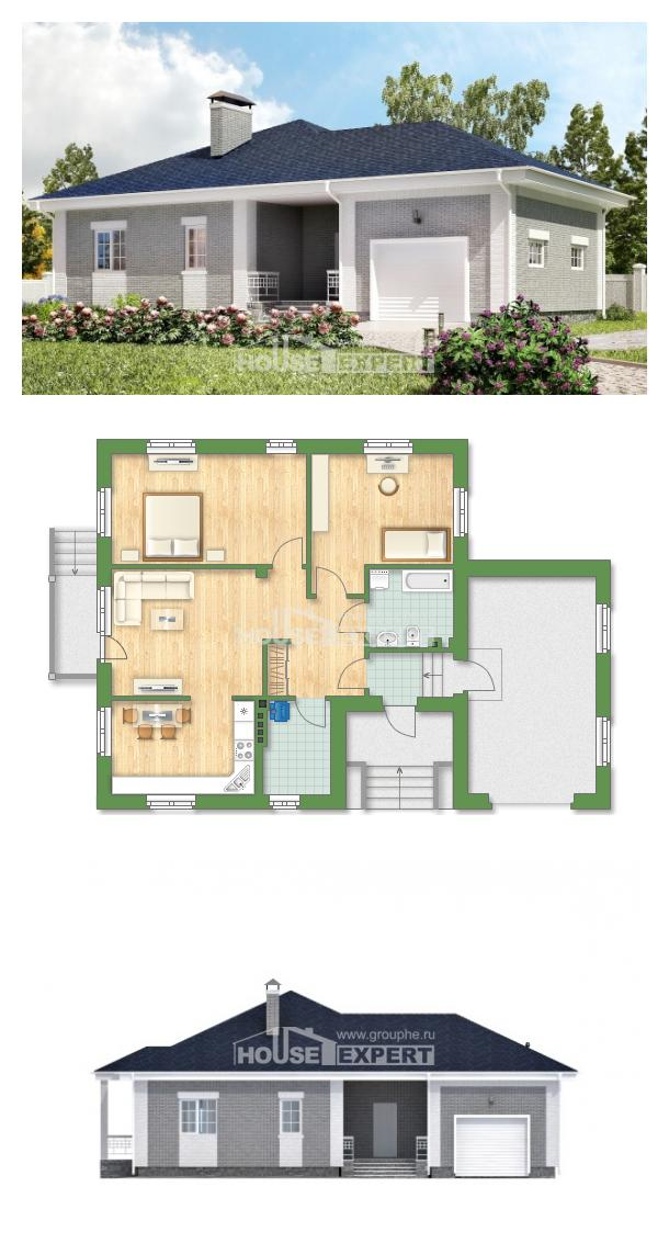 Проект дома 130-002-П   House Expert